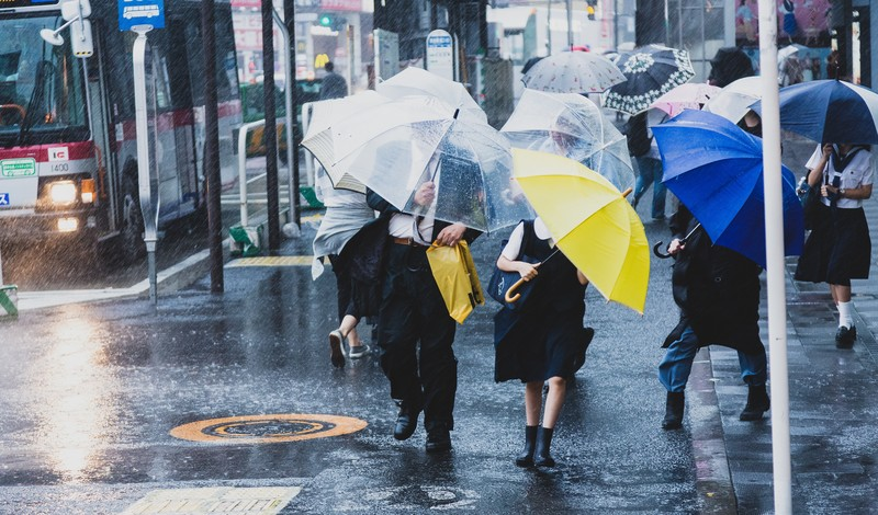 Apple豪雨